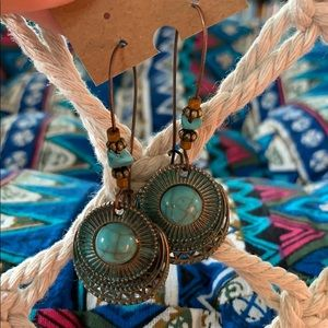 Turquoise Persuasion Drop Earrings